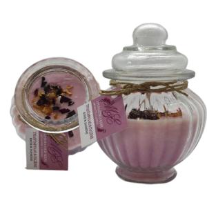 Αρωματικό Κερί Τριαντάφυλλο & Γιασεμί