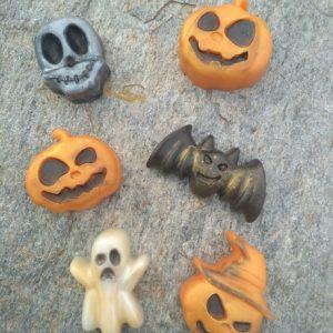 Halloween - Σετ 6 Σαπούνια Γλυκερίνης -  Πορτοκάλι & Μπαχαρικά