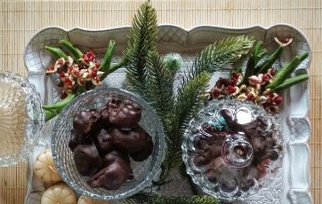 Χριστουγεννιάτικα Σοκολατάκια με Μαρμελάδα